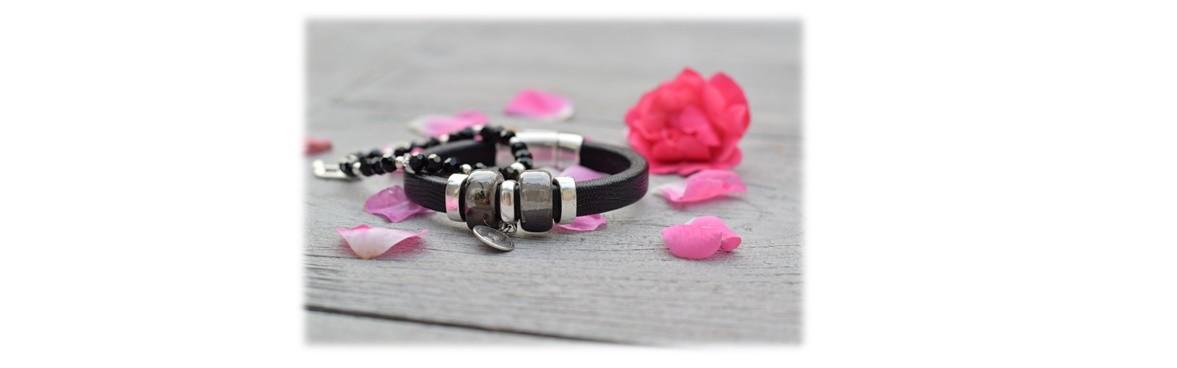 Armband Regaliz Zwart